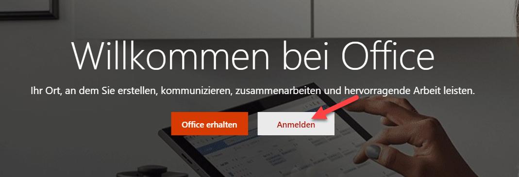 Outlook SuS Anmeldung 2