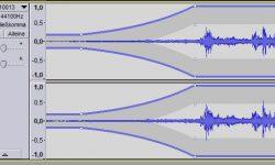 Audiospur einblenden und ausblenden