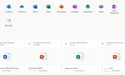 Neue Datei erstellen und in OneDrive speichern