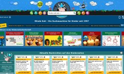 Suchmaschinen für Kinder Blinde Kuh