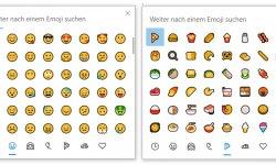 Emojis und Piktogramme in Windows