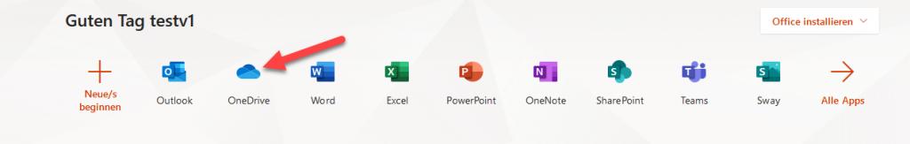 Dateien in OneDrive organisieren