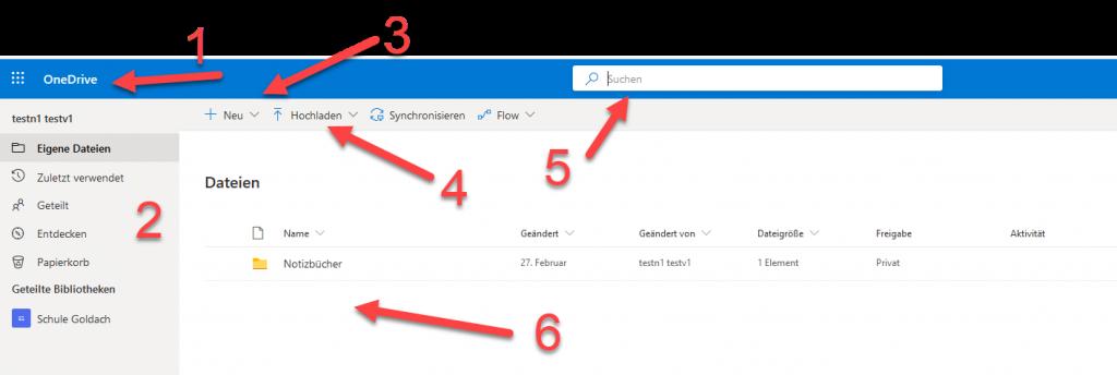 Dateien in OneDrive organisieren 2