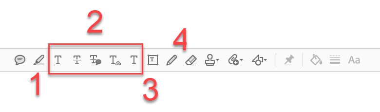 In PDFs schreiben Kommentieren Werkzeuge