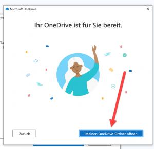 Onedrive einrichten auf deinem Computer 6