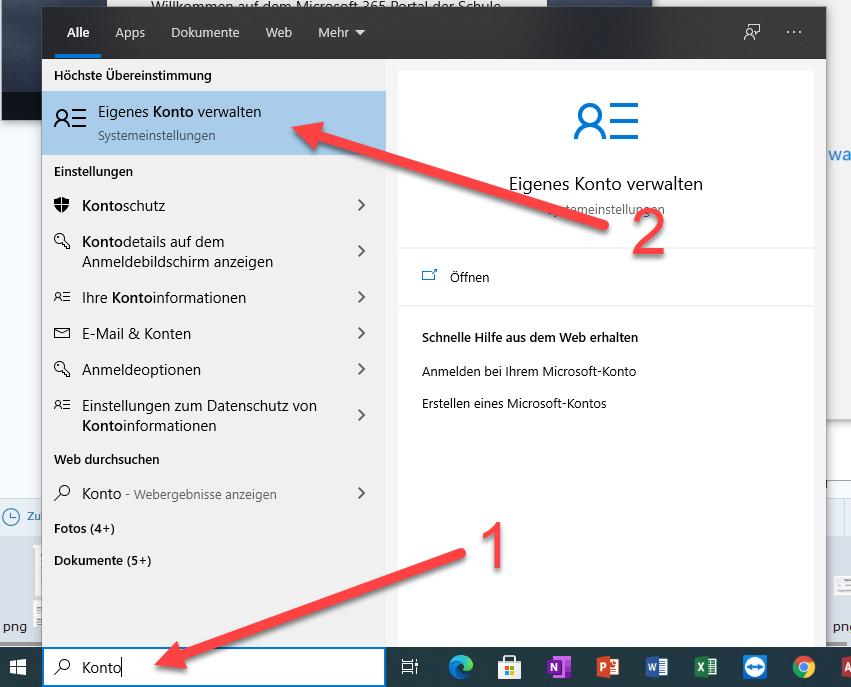 Anmeldeprobleme in Microsoft 365 loesen 1