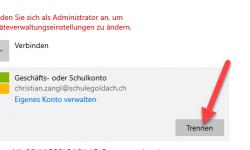 Anmeldeprobleme in Microsoft 365 loesen 3