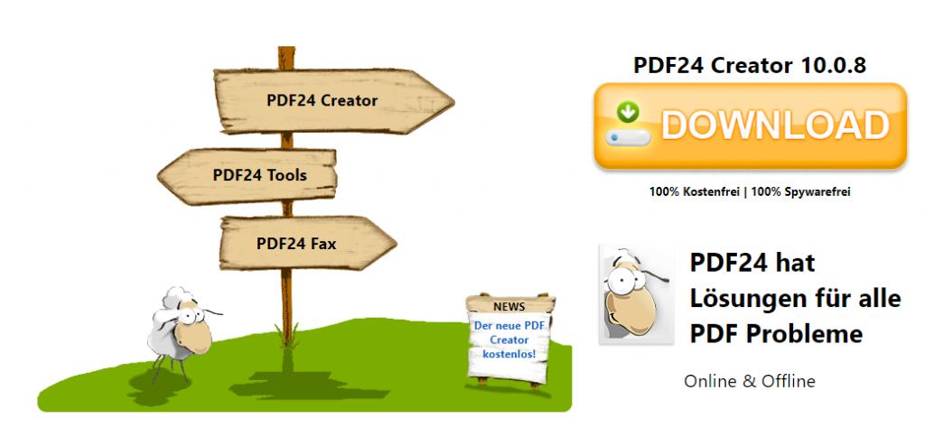 PDF Creator herunterladen und installieren