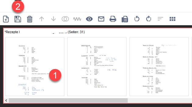 PDF drehen und speichern