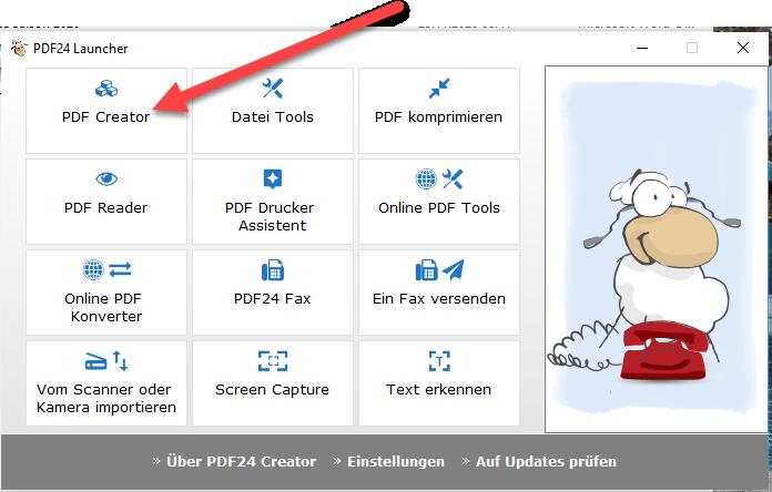 Wie drehe ich ein PDF