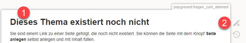wiki dieses thema existiert noch nicht