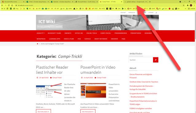 Browserfenster maximieren mit F11