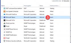 Microsoft TEAMS Autostart verhindern 1